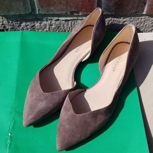 Marc Fisher  suede flats size 8